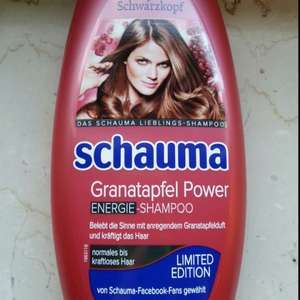[Rossmann] lokal Green Label Schauma Granatapfel Power Shampoo 0,70 ct