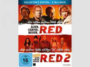 [Blu-Ray] RED 1+2 Steelbook für 9,99€ @Saturn und Amazon