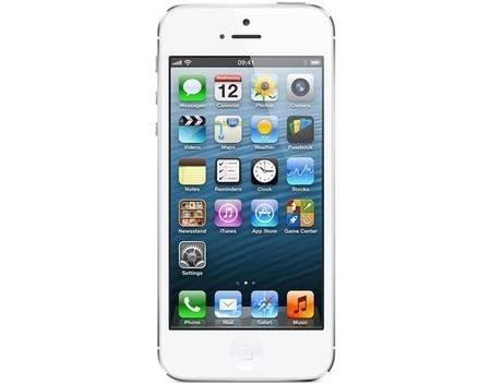 Apple Iphone 5, 16 GB, schwarz oder weiß, B-Ware für 219,00 Euro
