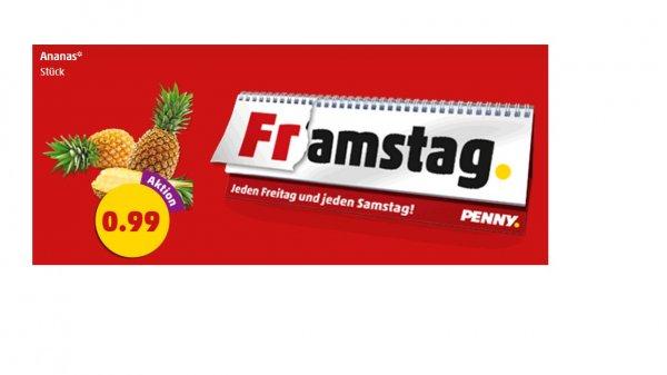 [Penny] 1 Ananas zum Bestpreis für 0,99 - nur am 22&23 Mai !