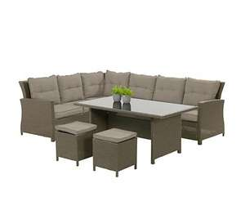 Bukatchi Loungegruppe Polyrattan Gartenmöbel Set, 854,95 EUR @ plus