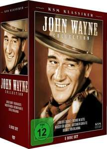John Wayne Collection (KSM Klassiker) 5 DVDs bei Amazon für 9,97€