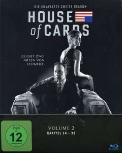 [Lokal Bundesweit Conrad] House of Cards Staffel 2 [Blu-Ray] 12,99€