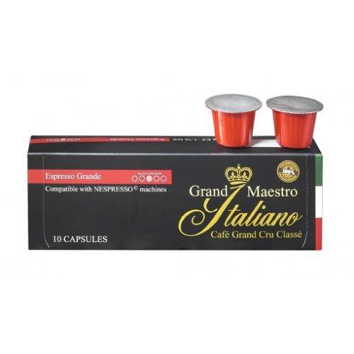 100 Grand Maestro Itialiano Kapseln für 19,40 inkl. Versand – kompatibel mit allen Nespresso-Geräten