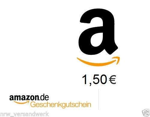 Amazon Geschenkgutschein 1,50€ für 1,00€ !! Schnell Sein !!