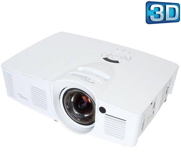 OPTOMA GT1070X - weiß - DLP-Beamer Full HD 3D