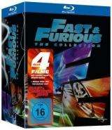 Fast & Furious – The Collection 1-4 mit Bonus-Disc(Blu-ray) für 18,67 € inkl. Versand @madiadealer