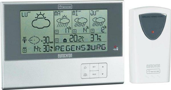 [3% Qipu] Eurochron Funk-Wetterstation EFWS 110 MS Vorhersage für 4 Tage für 44€ frei Haus @Völkner