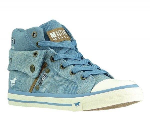 MUSTANG Hightop Damen/Kinder-Sneaker (33-40) für 19,99€ @ Ebay