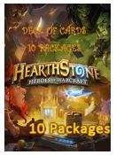 Hearthstone - Deck of Cards DLC - 10 Packages 8,53 €