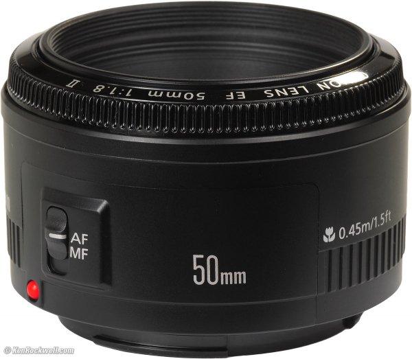 Canon EF 50mm 1:1.8 II Objektiv