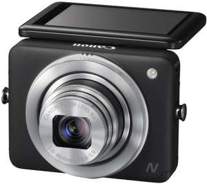 Canon PowerShot N schwarz für 139,44 € @Amazon.it