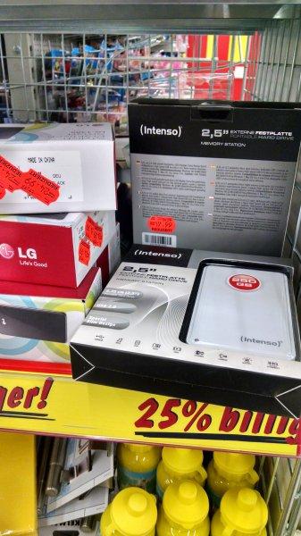 """Kaufland [Lokal Witten] Intenso 2,5"""" 500GB Festplatte 17,99€"""