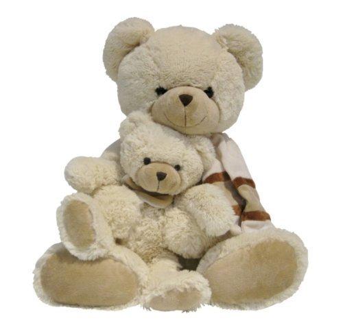 [Amazon-Prime] Simba 6305810321 - Nicotoy Plüsch Bär mit Baby