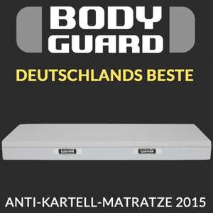 "Body­guard Anti-Kartell-Matratze ""Anti-Absprache"" - Test.de Schnelltest sagt der Hammer! Ab 210,9€"