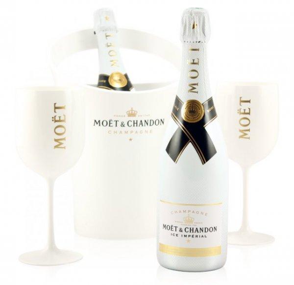Moët & Chandon Impérial Ice Party Pack mit 2 Gläsern und 1 Kühler (ohne Flaschen) für 52,39€ @ Groupon