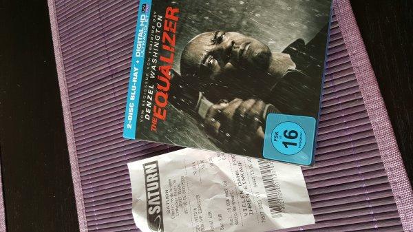 Saturn Essen The Equalizer Blu-ray & Fury Herz aus Stahl Blu-Ray je10Euro