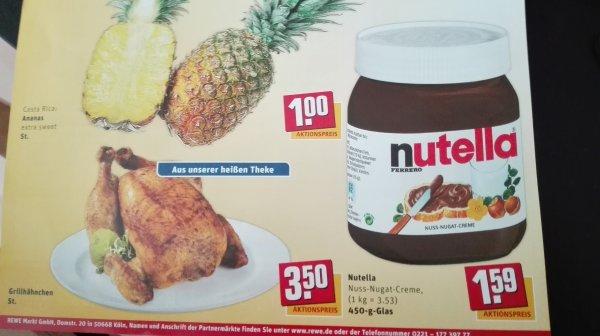 [LOKAL]Neueröffnung Rewe in Kerpen-Sindorf Hähnchen, Nutella, Ananas gültig ab 28.05.-30.05.2015