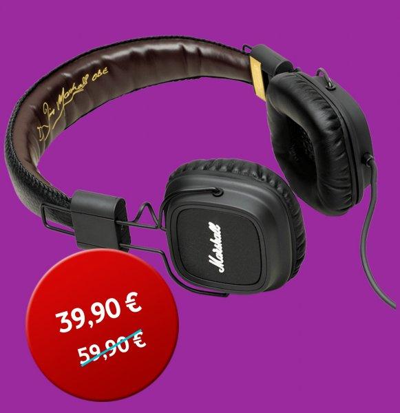 Marshall Major Headset-schwarz @vodafone-Online Shop  VGL 52,46€
