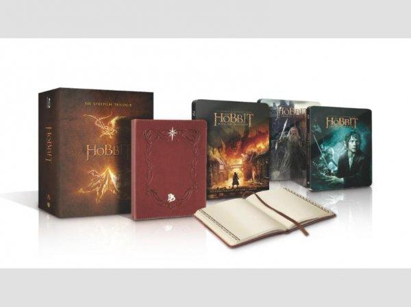 [Saturn.de] Der Hobbit Trilogie Steel Edition inkl. Bilbos Journal - Blu-ray für 34,99€