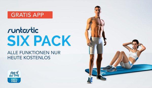 Sixpack-App von Runtastic für iOS und Android - Vollversion - Gratis