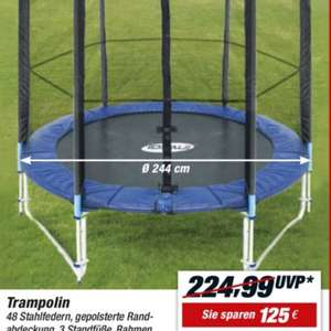 Toom Intertek Trampolin 244cm