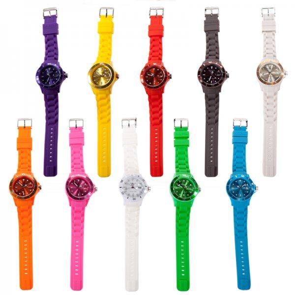 [3% Qipu] Madison Candy Time Unisex-Armbanduhren in 10 versch. Farben für jeweils 6,66€ frei Haus @Dealclub