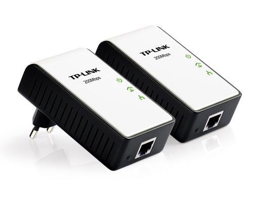 TP-LINK 200MBIT POWERLINE 200 ETHERNET ADAPTER 2ER (!) SET