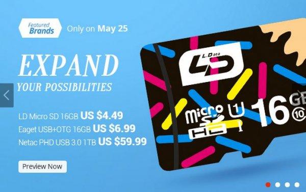 [CN] 16,32,64,128GB Micro SD Card Class 10 (30 Jahre Garantie) @Aliexpress