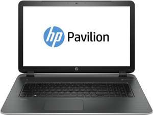 "HP Pavilion 17-f255ng (AMD A10-5745M, 8GB RAM, 500GB SSHD, AMD R7 M260 2GB, 17,3"" HD+) - 399,90€ @ Notebooksbilliger.de"
