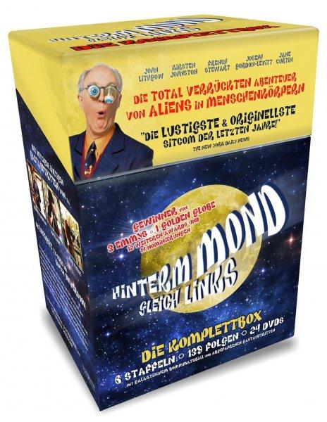 Hinterm Mond gleich Links - 24 DVD Cigarette Komplettbox für 24,97€ @amazon.de [Prime]