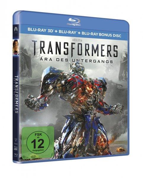 Transformers 4: Ära des Untergangs 3D Blu-ray für 13,97€ @Amazon.de [Prime]