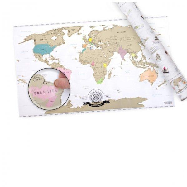 Weltenbummler Karte zum markieren WO man war
