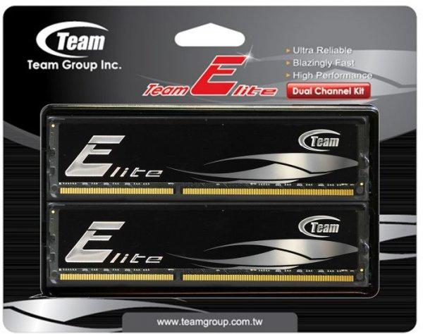 8GB KIT - TeamGroup Elite Black - PC3-12800 DDR3-1600 - CL11 @ HOH.de