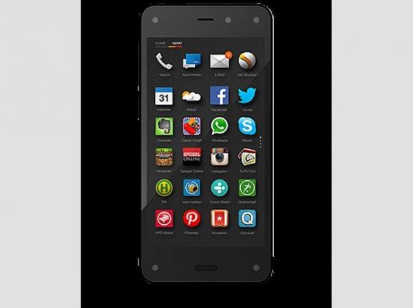 AMAZON Fire Phone 64GB Schwarz (Telekom Simlock) ab 144,-€..Nur für Telekom Kunden interessant!