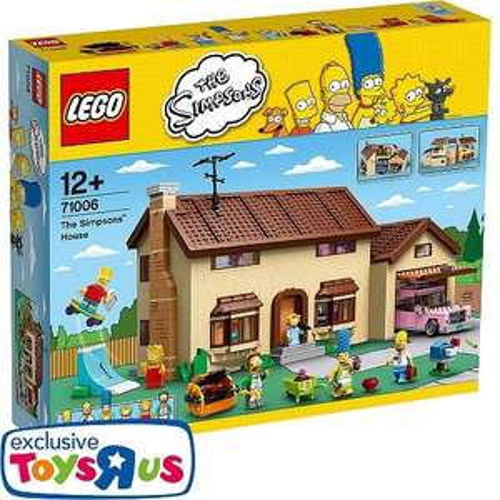LEGO - 71006 The Simpsons Haus, Toysrus.de, für 181,79€, mit Payback (163,62€)