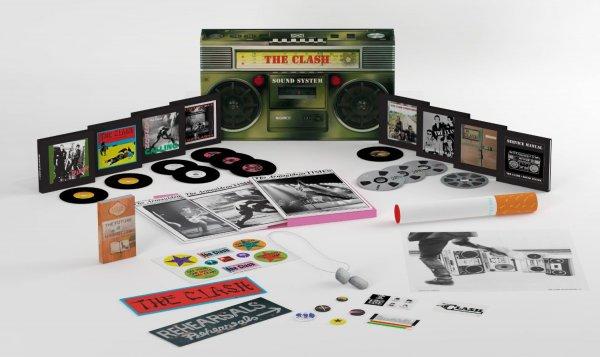 The Clash: Sound System (11 CD + DVD) Remastered für 107.07€ @amazon.de