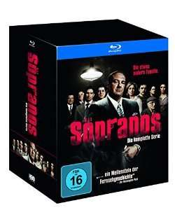 (amazon.de) Sopranos - Die komplette Serie (exklusiv bei Amazon.de) [Blu-ray] [Limited Edition] für 84,97€