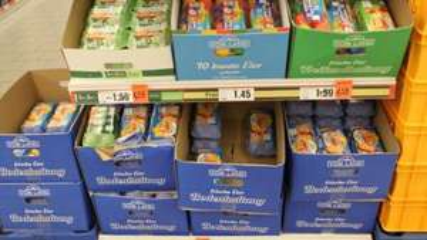 [NETTO MD] Frische deutsche Eier aus Bodenhaltung 12 Stück für 0,99 Euro