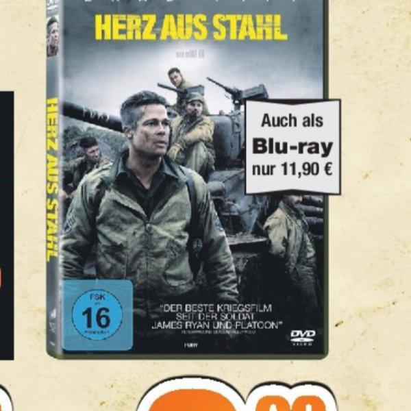 [lokal Expert Bening gruppe] Fury Herz aus Stahl Blu Ray