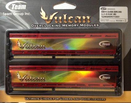 [HoH.de] DDR3 PC3 Arbeitsspeicher Team Group 8GB KIT PC3-12800 DDR3-1600 CL9 2x4GB xtreem Vulcan rot