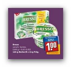 Bresso mit Kräutern aus der Provence bei Rewe (City) für 1,00€ (-0,50€ Cashback möglich)