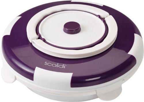 Ariete 799  / Elektrischer Speisenwärmer / 105 Watt / violett oder orange für 30,82 € @Amazon.it