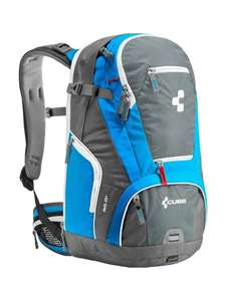 Fahrradrucksack Cube AMS 25+ grau/blau
