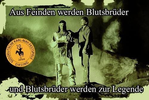 Tagesticket für die Süddeutschen Karl May Festspiele @ Groupon ( Qipu möglich) für 13,90 € ( 50 % sparen)