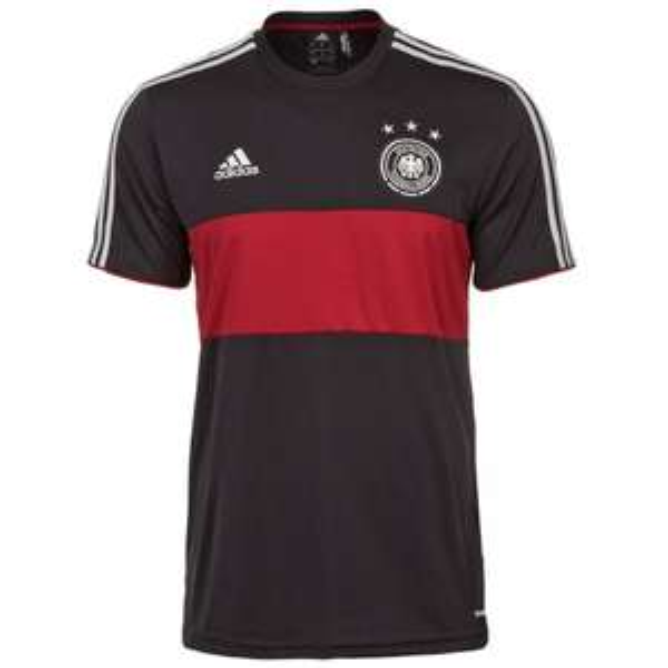 @Ebay WOW: adidas Performance DFB Replica T-Shirt Away WM 2014 Herren schwarz / rot oder adidas Performance DFB Replica T-Shirt WM 2014 Herren weiß / schwarz NEU