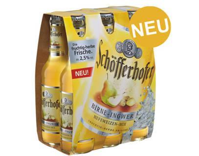 [!!! BUNDESWEIT !!!] 6 Pack Schöfferhofer Weizen Birne/Ingwer 29ct + 48ct Pfand @Netto