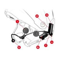 Nolan N-Com B5 Bluetooth Headset für Helme [lokal Hamburg Louis Lagerverkauf]