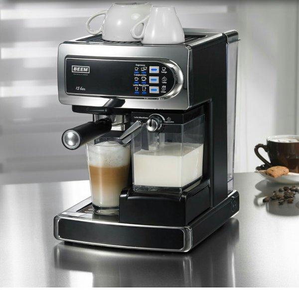 Espresso Siebträger Maschine Beem i-joy Cafè für 139,90 EUR