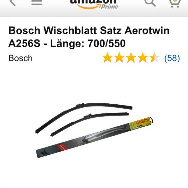Bosch Wischblattsatz A 256S
